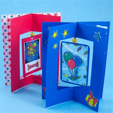 make my card card idea dangler card tutorial greeting card