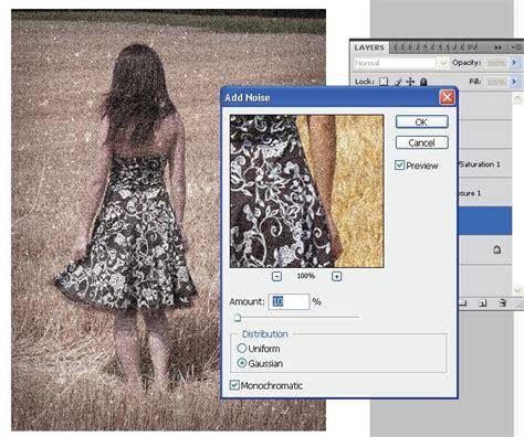 tutorial membuat poster vintage efek foto klasik vintage dengan photoshop sanjayacoldz