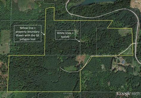 property lines map mapping your forest with earth and a gps phone app treetopics