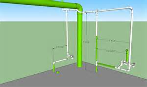 bathroom waste plumbing diagram basement plumbing in diagram home design