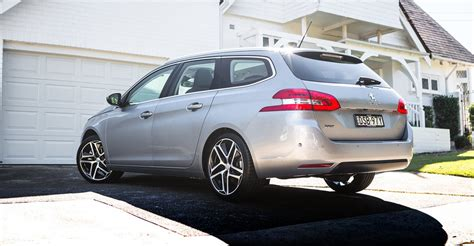 peugeot 308 touring 2018 peugeot 308 touring review caradvice
