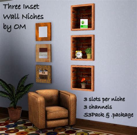 How To Decorate Wall Cutouts by Inset Wall Niches 2 To Match Decorative Cutout Shelves By