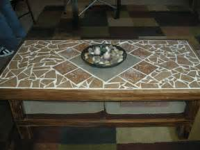 Diy Mosaic Coffee Table Diy Mosaic Tile Coffee Table Table Mosaic Ideas