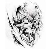 Tattoos Grim Reaper Deer Sugar Bull Skull Tattoo Art