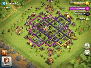 Best Base In Clash Of Clans Town Hall Level 7 » Home Design 2017