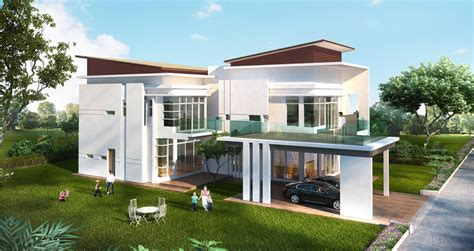 Modern Bungalow House Plans Teladan Setia Taman Saujana Heights