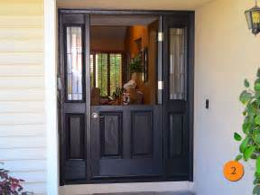 Craftsman Style House trendy black front doors for 2017 todays entry doors