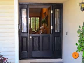 Trendy black front doors for 2017 todays entry doors
