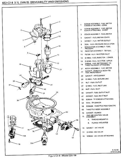 images  chevy   tbi engine diagram  tbi wiring diagram chevy  tbi
