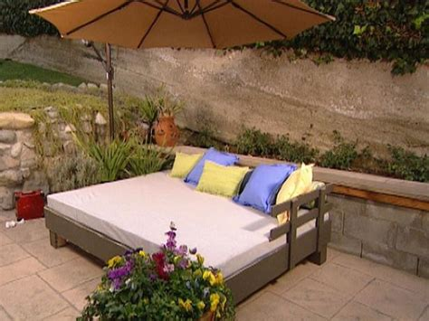Build An Outdoor Daybed Hgtv | build an outdoor daybed hgtv