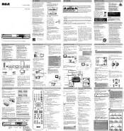 Rca rtd315wr rtd315wr product manual