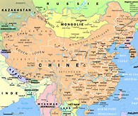 Map China Cities