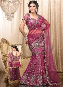 Lehenga saree fashion 2015