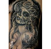 Day Of The Dead Pin Up Tattoo  Steve Soto Best Tattoos