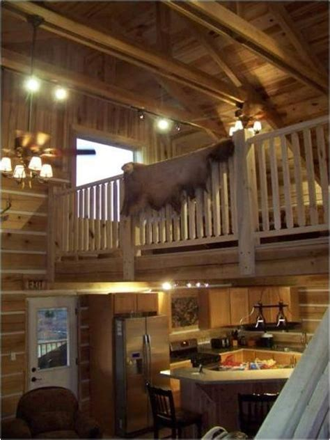 Log Cabin Loft by Log Cabin With A Loft Home