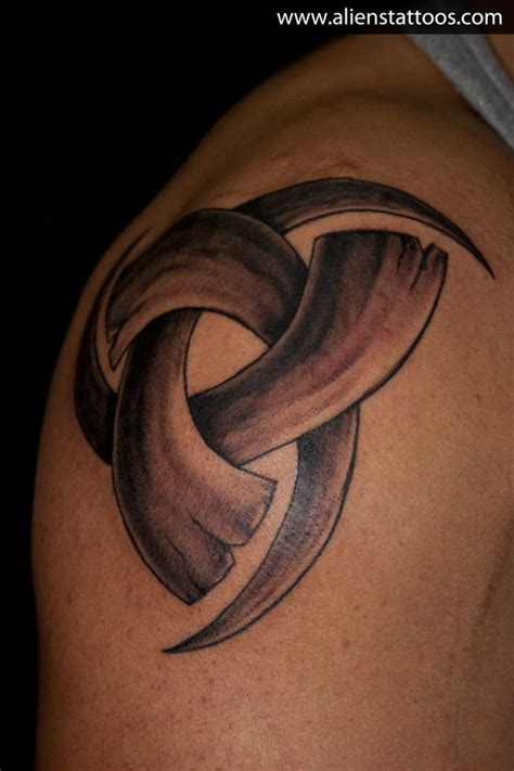 triple a tattoo odin horn designed inked by at aliens