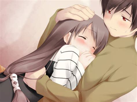 Anime Hug by Beautiful Anime