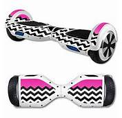 Wheel Unicycle Wrap Cover Sticker Hot Pink Chevron Electronics
