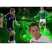 Javier Chicharito Hernandez Mexico 2012 Wallpapers Photos Images