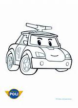 coloriage robot car poli 212x300 coloriage robocar poli Car Pictures
