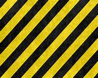 Hazard Stripes Background