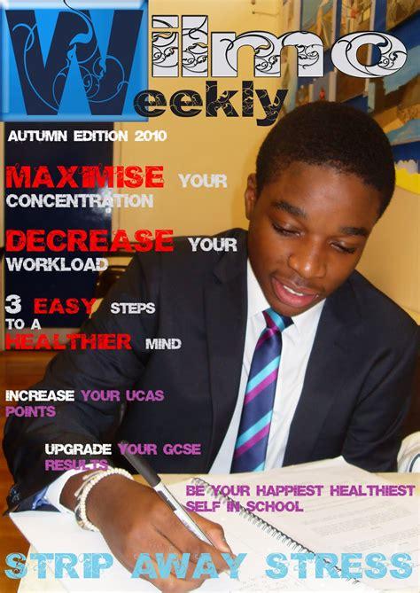 cover design of school magazines joshua powell as media studies blog media studies work log