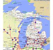 MAP OF MICHIGAN  Click Now For City Maps