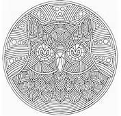 Mandala Coloring Pages 017