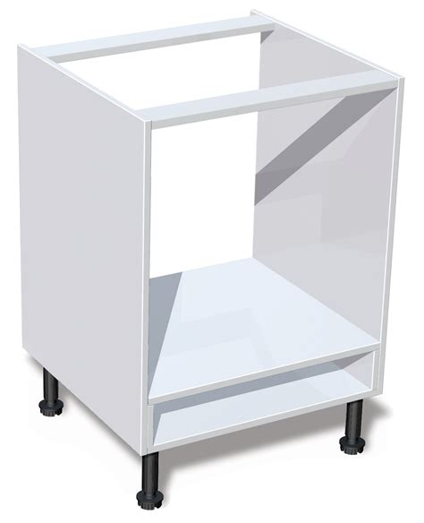 oven in base cabinet it kitchens white oven housing base cabinet w 600mm