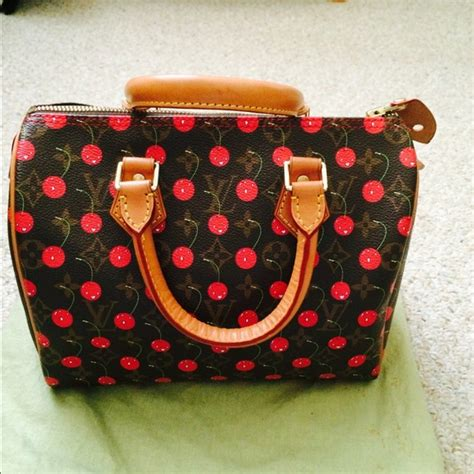Lv Dress Cerry louis vuitton sold louis vuitton cherry blossom speedy