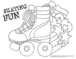 i like to skate coloring pages