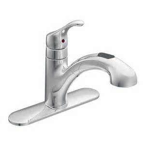 Moen Pullout Kitchen Faucet Repair by Renzo Chrome One Handle Low Arc Pullout Kitchen Faucet