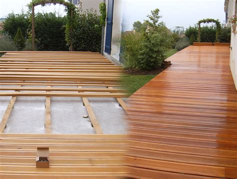 terrasse en bois exotique terrasse terrasse bois exotique bankirai accueil design