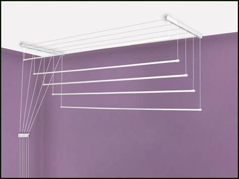 Sechoir A Linge Plafond by Etendoir 224 Linge De Plafond 7 Barres 1m60 Etend Mieux