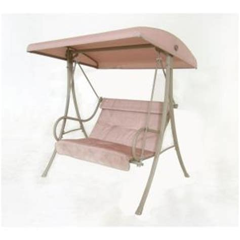 hton bay 2 person patio swing s010114 the home depot