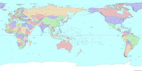 japan world map image strange cardinal directions in this anime forums
