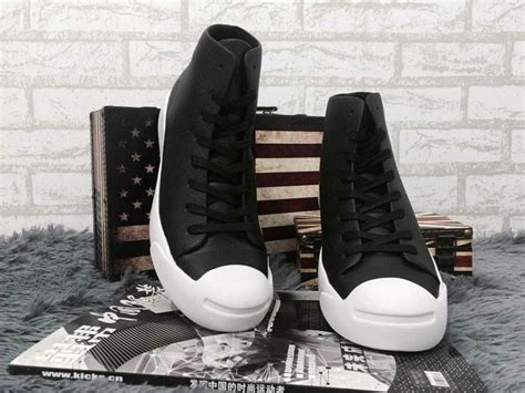 Converse Modern Htm converse purcell modern htm chucks black leather high tops winter sneakers s61233 64