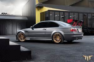Bmw E46 M3 Wheels A Bmw E46 M3 Is Ready For The Track