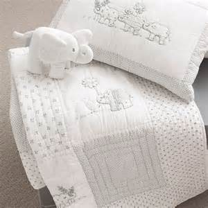 Bedding Sets Baby Uk Baby Elephant Bedding From The White Company