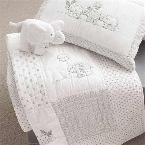 baby elephant bedding baby elephant bedding from the white company gifts for babies 2011 housetohome co uk