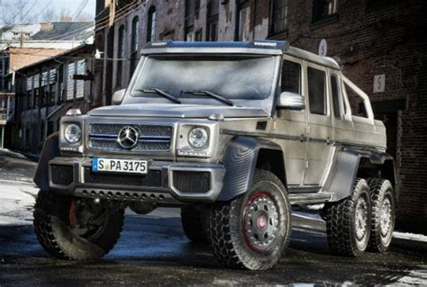 mercedes 6 wheel pickup holy six wheeled mercedes benz batman this monstrous
