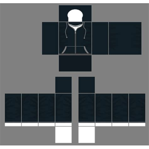 Roblox Jacket Template black jacket template roblox