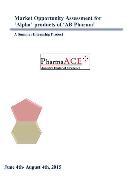 Pharma Summer Internship For Mba by Bishwjit Ghoshal Summer Internship Report 2015