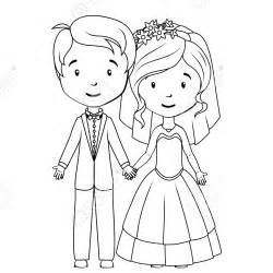Bride Groom Free Coloring Pages Art Coloring Pages