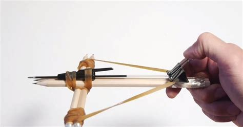 Office Supplies Crossbow How Make A Crossbow Out Of Your Office Supplies Wow That