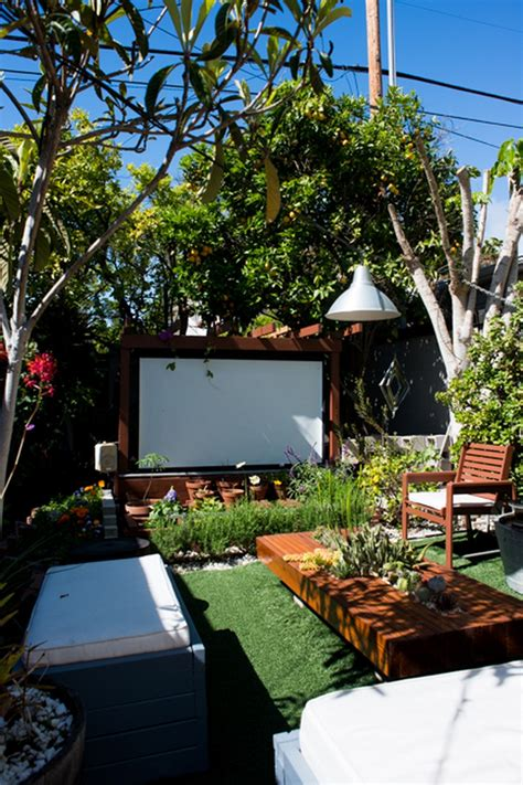 diy backyard theater bring more entertainment to your backyard by building an