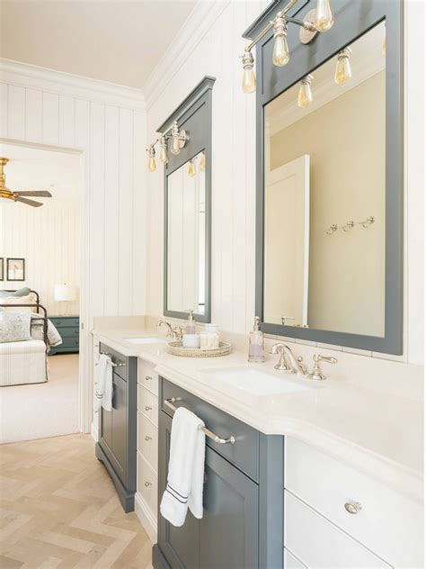 two tone bathroom cabinets category small interior ideas home bunch interior
