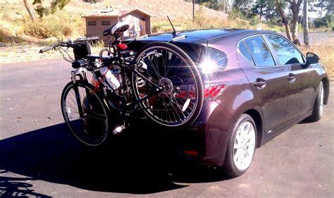 new bike rack thule raceway 9001 clublexus lexus