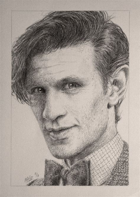 how to draw matt smith doctor who drawing doctor who project matt smith by atarial on