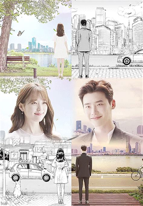 film korea webtoon lee jong seok and han hyo joo are illustrated and three